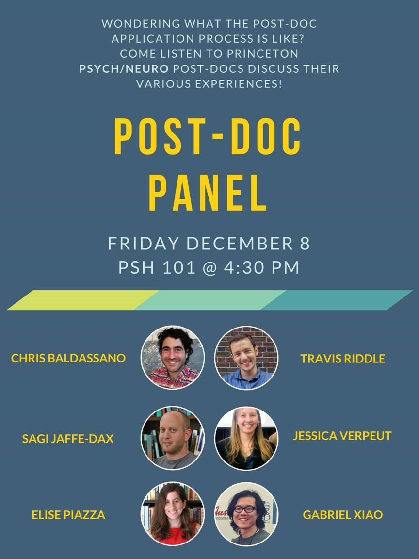 Post Doc Panel